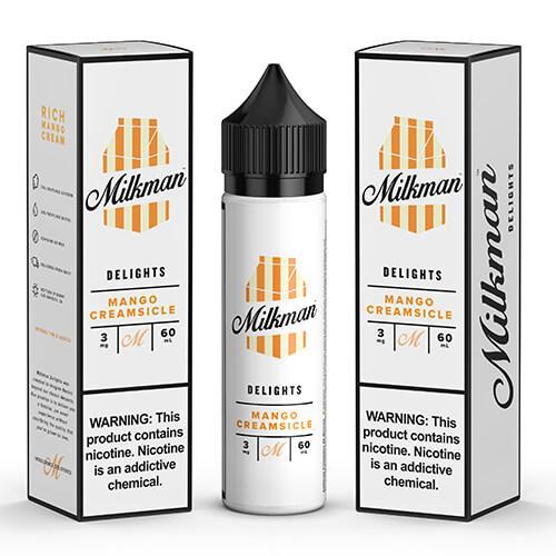 Mango creamsicle by The MilkMan Eliquids