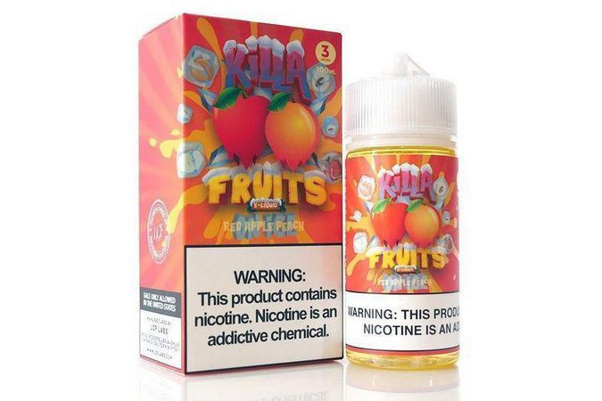 Red Apple Peach Ice by Killa Fruits