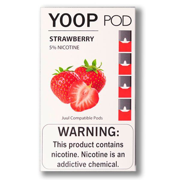 Yoop Pod Strawberry JuuL