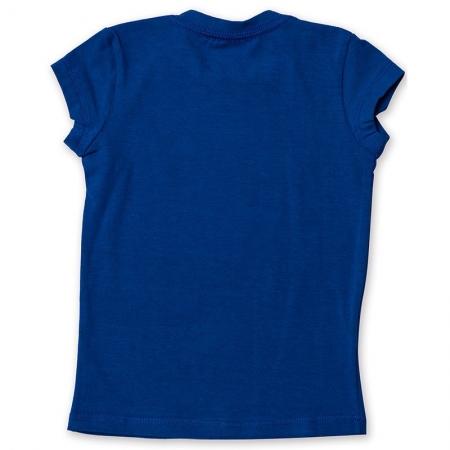 Baby Look Infantil Básica Toffee Cor Azul Royal - Nº03