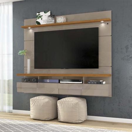 Bancada Suspensa Lana 180 cm TV 60 Madetc Fendi Naturale
