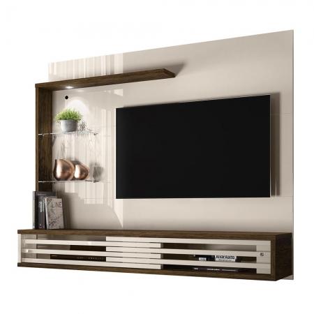 Bancada TV 50 Polegadas Suspensa Frizz Select Cor Off White