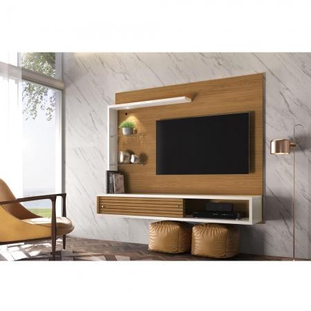 Bancada TV 50 Polegadas Suspensa Frizz Select Naturale Off WHITE