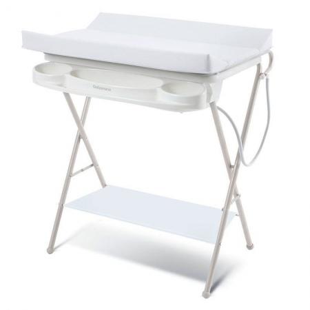 Banheira Para Bebê Luxo Rígida Branca Galzerano
