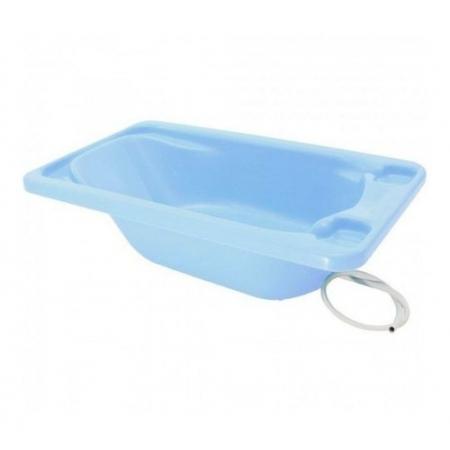Banheira Para Bebê Rígida Galzerano Cor Azul