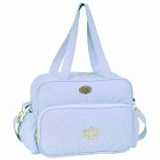 Bolsa Maternidade com Trocador Mimo Hug Cor Azul Bebê