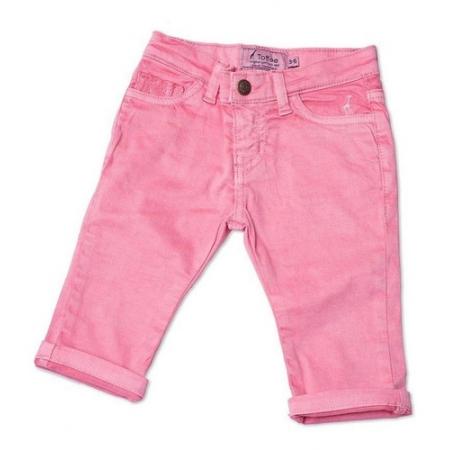 Calça Jeans Infantil Feminina Rosa Toffee - Nº2