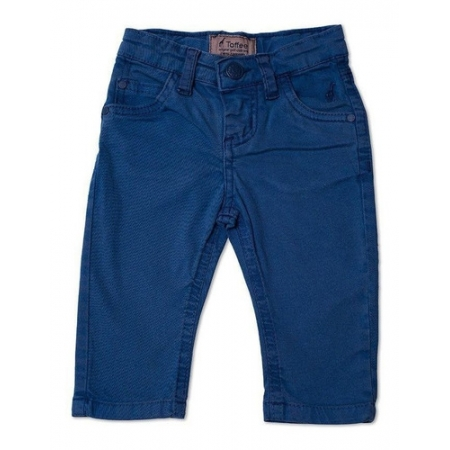 Calça Jeans Infantil Masculina Azul Royal Toffee - 6 a 9 meses