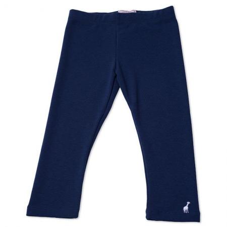 Calça Legging Infantil Azul Marinho Toffee - Nº06