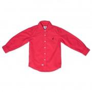 Camisa Infantil Vermelha Toffee Cor Vermelho