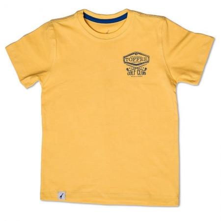 Camiseta Infantil Season Amarela Toffee - Nº06