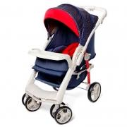Carrinho de Bebê Optimus Galzerano Cor Jeans