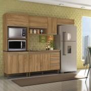 Composição Cozinha Karen 04 módulos Peternella Cor Nature