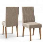 Conjunto com 2 Cadeiras Manuela DJ Móveis