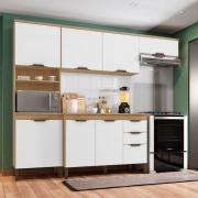 Cozinha 4 Peças Milena com Tampo Incorplac Cartagema Branco