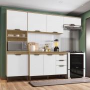 Cozinha 4 Peças Milena Incorplac Cor Cartagema Branco
