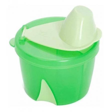 Dosador Para Leite Em Pó Clevamama Cor Verde