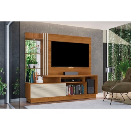 Home Theater Tv 60 Frizz Plus Madetec Cor Natural Off White