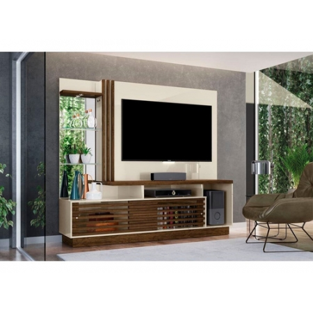 Home Theater Tv 60 Frizz Plus Madetec Cor Off White Savana