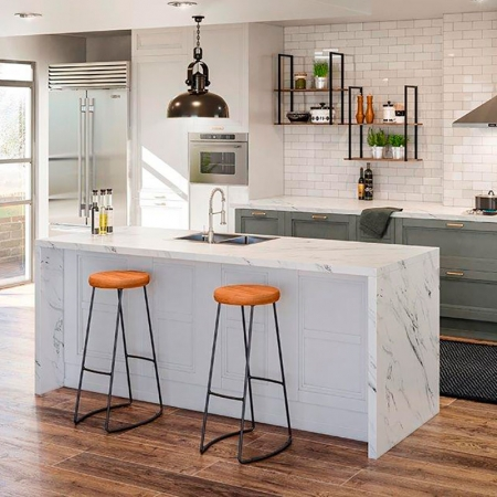 Kit 2 Banquetas Industrial Aurora Dream Home Design
