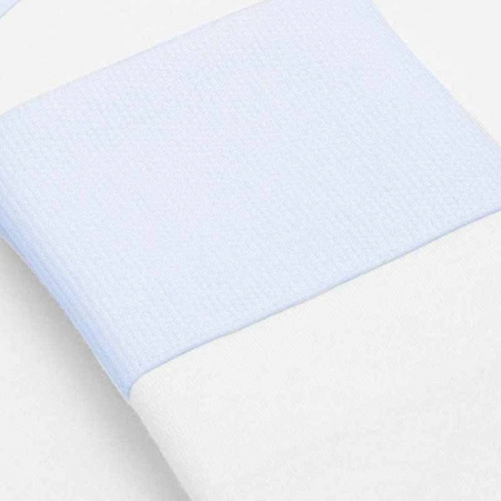 Kit 2 Fronhas Em Malha Azul M Classic For Baby Cor Azul