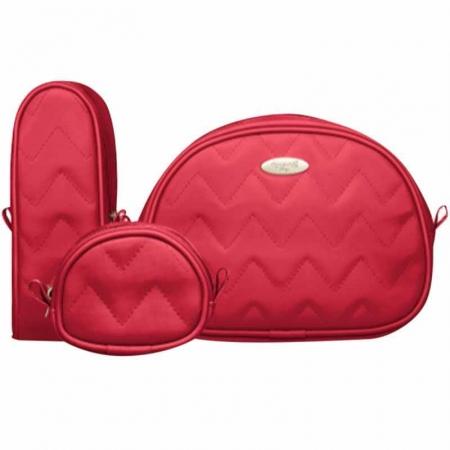 Kit Viagem Classic for Baby Bags Cor Cereja