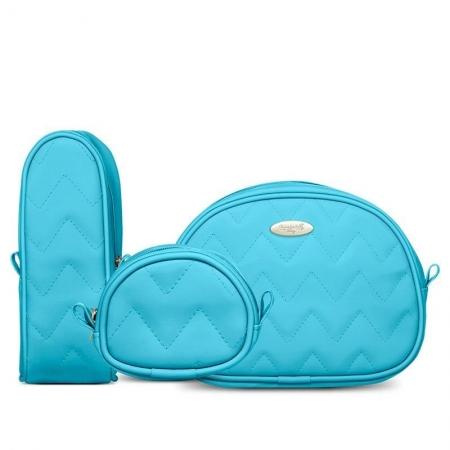 Kit Viagem Classic for Baby Bags Cor Turquesa