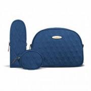 Kit Viagem Classic for Baby Bags Koala Marinho Cor Azul