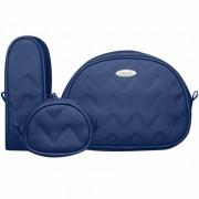 Kit Viagem Classic for Baby Bags Missoni Cor Azul