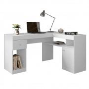 Mesa Office Nilo Caemmun Cor Branco Fosco