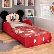 Mini Cama Mickey Disney Vermelho - Pura Magia