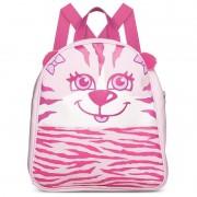 Mochila Infantil Tigresa Classic for Bags Cor Rosa