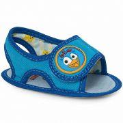 Sandália Infantil Baby Azul Galinha Pintadinha