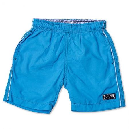 Shorts Infantil Tactel Masculino Turquesa Toffee - Nº01