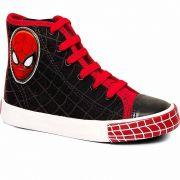 Tênis Canvas Hi Masculino Homem Aranha Sugar Shoes