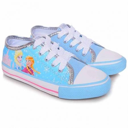 Tênis Infantil Canvas Low Frozen Disney - N°25