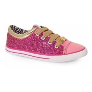 Tênis Infantil Casual Princesas Disney Sugar Shoes - N°27