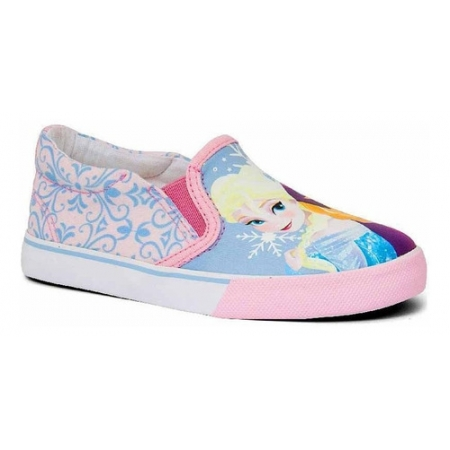 Tênis Infantil Feminino Iate Frozen Disney Sugar Shoes - 35