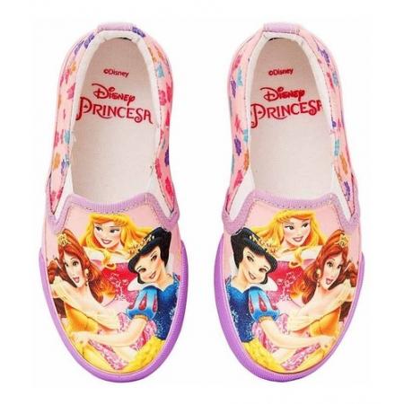 Tênis Infantil Iate Feminino Princesas Disney Sugar Shoes - N°32