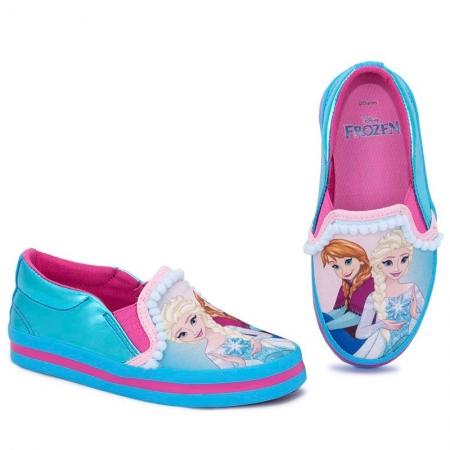 Tênis Infantil Princesa Frozen Iate Sugar Shoes - N°25