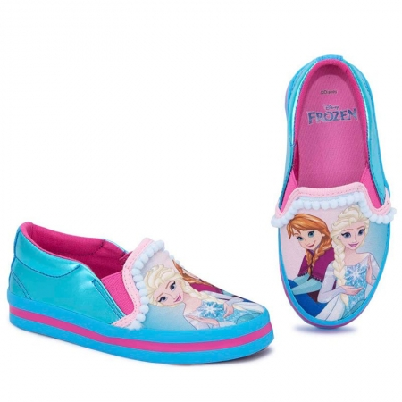 Tênis Infantil Princesa Frozen Iate Sugar Shoes - N°32