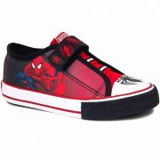Tênis Infantil Velcro Masculino Homem Aranha Sugar Shoes Tamanho N°24