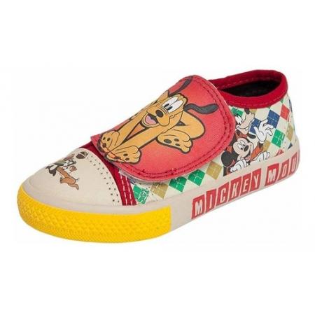 Tênis Infantil Velcro Mickey Pluto Disney - N°26