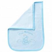 Toalha Meu Batizado Atoalhado Azul Classic for Baby Cor Azul