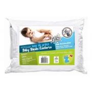 Travesseiro Baby Íons de Prata Fibrasca Cor Branca