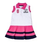 Vestido Infantil Gola Polo Toffee - Nº04