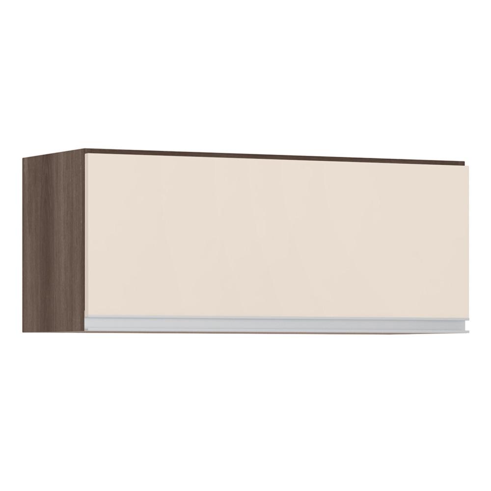 Aéreo de Geladeira 80 cm 1 Porta Rud Rack - Malbec/Off White