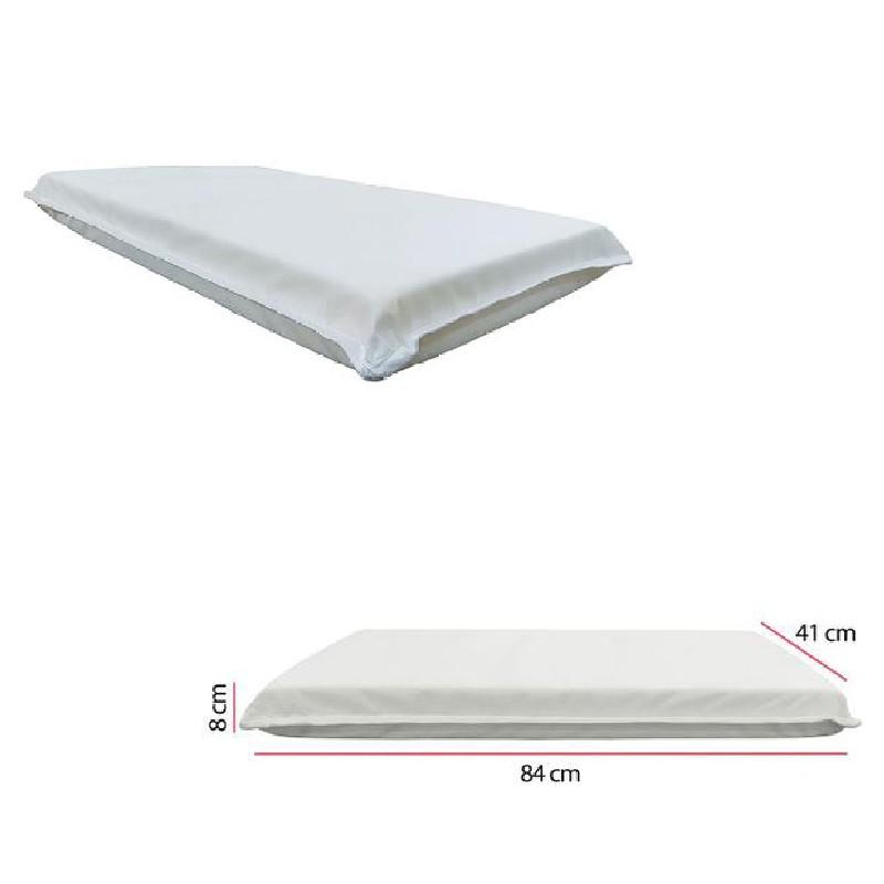 Berço Multifunção Bedside c/Colchão + Kit Fronha e Lençol ME