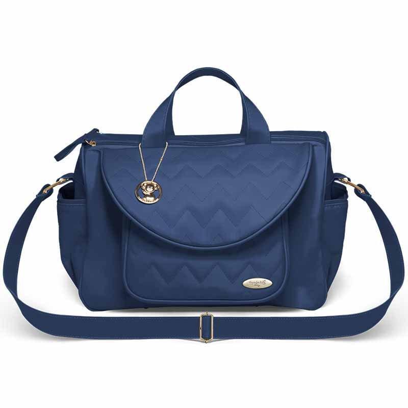 Bolsa Maternidade Classic For Baby Missoni Genova Cor Azul