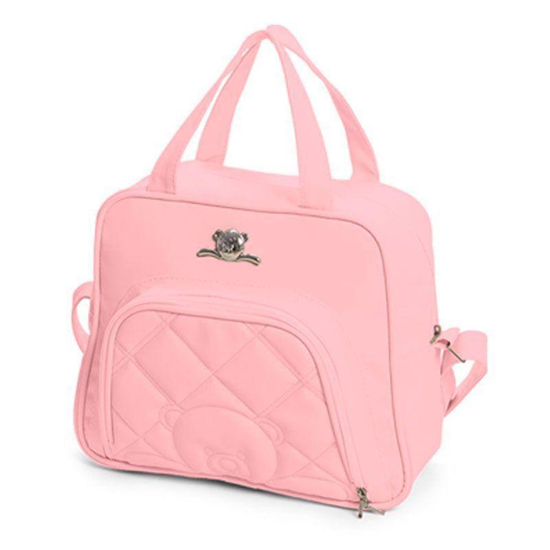 Bolsa Maternidade Kit 4 Peças Meu Ursinho Hug Cor Rosa